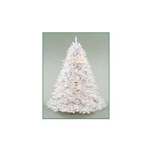 9 White Barrington Deluxe Frasier Fir Pre Lit Artificial