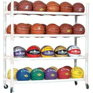 Heavy Duty Indoor Outdoor 40 basketball Ball Cart
