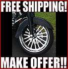 NEW CHROME 21 X 3.5 FRONT SUPER SPOKE WHEEL RIM HARLEY