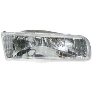 Aftermarket Replacement Headlight Headlamp Clear Lens/Housing Front