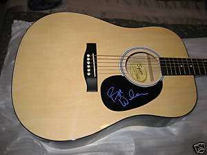 BOB WELCH FLEETWOOD MAC Signed ACOUSTIC GUITAR PROOF