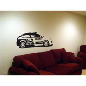 Wall MURAL Vinyl Sticker Car 2006 FORD FOCUS RALLY 004