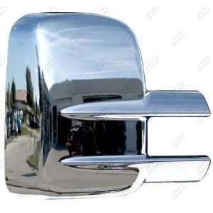 1999  2012 Chevy Silverado 2500 / 3500 Chrome Mirror Covers for TOWING