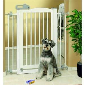 Essential Pet Products 94160 One Touch Pet Gate   White