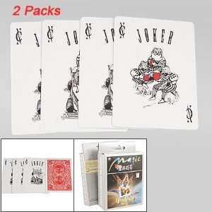 o 2 Packs 4 in 1 Funny King Prints Card Magic Trick Toy Baby