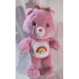 Pink Cheer Bear Care Bear 13 in Plush Toys & Games