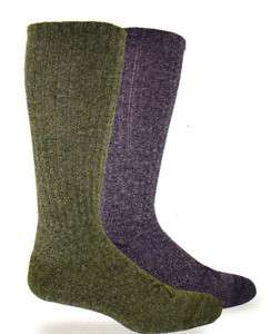 BROWNING MENS CASUAL MARL HIKER SOCK (OLIVE) L