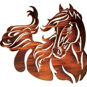 21 Windy (Horse) Metal Wall Art