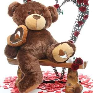 Large Cuddly and Soft 42 Valentine Day Teddy Bear   Sweetie