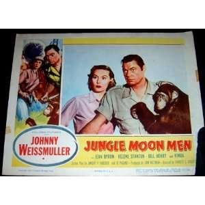 Jungle Moon Men 1955 B Movie Lobby Card (Movie