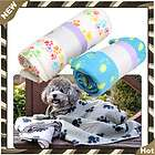 Large Size Hot Sell Soft Dog Cat Fleece Pet Paw Prints Blanket Mat