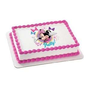 Minnie Mouse   Minnie Pretty Edible Cake Topper / 1 Image