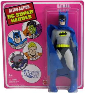 Retro Action Figure DC Super Heroes BATMAN Mego 70s
