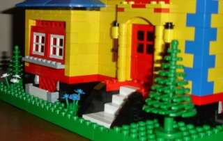 LEGO 4954 Huge Custom LEGO Town House 4954 Idea & Minifigs Lovely