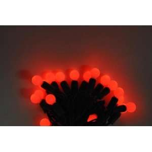 Red Sheer Glow LED Light String