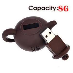 8G Rubber USB Flash Drive with Pot Shape Electronics