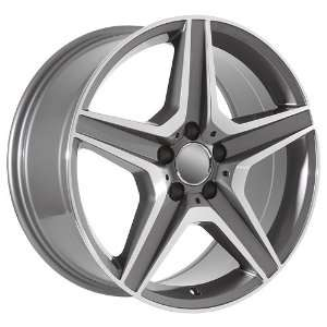 20 Inch Mercedes Benz Wheels Rims Machined (set of 4