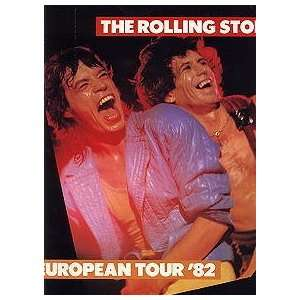 ROLLING STONES 1982 CONCERT TOUR PROGRAM BOOK Everything