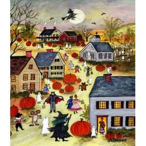 Happy Halloween   Little ~ Wooden Jigsaw Puzzle Toys & Games