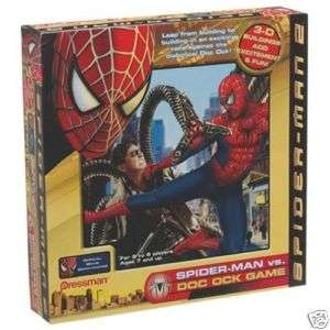 SPIDER MAN 2 SPIDER  MAN VS.DOC OCK GAME  NEW