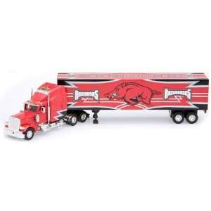 Arkansas Razorbacks Die Cast Collectible Tractor Trailer