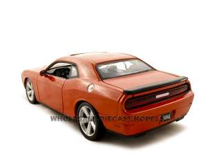 model car of 2008 Dodge Challenger SRT8 die cast car by Maisto