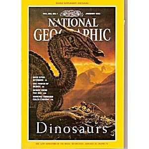National Geographic Magazine January 1993