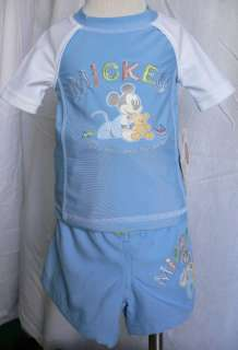 MiCKeY MoUsE~SWIM SHIRT+TRUNKS~18M~NWT~