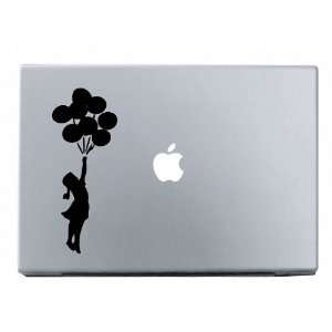 Banksy Balloon Girl Macbook Decal Mac Apple skin sticker