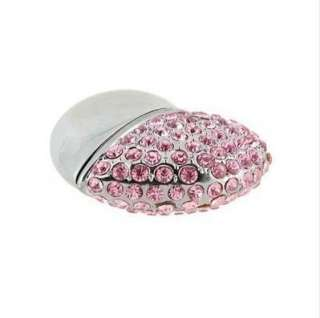 Diamond Heart 4GB/8GB/16GB USB 2.0 Flash Memory Pen Drive Disk