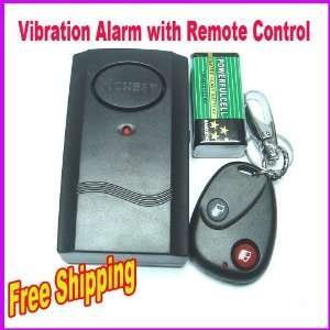 wireless remote control vibration alarm for door window detector alarm