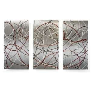 Metal Wall Art Painting Abstract Design by Ash Carl