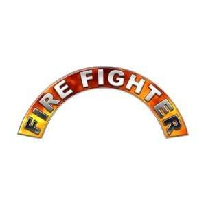 Real Fire Firefighter Fire Helmet Arcs / Rocker Decals
