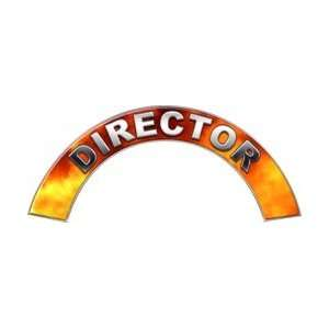 Director Real Fire Firefighter Fire Helmet Arcs / Rocker Decals