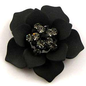 SHIPPING 1pc Austrian rhinestone flower brooch pin scarf buckle