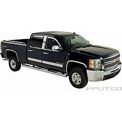 Chevy Silverado 2007 2008 2 door Chrome Kit