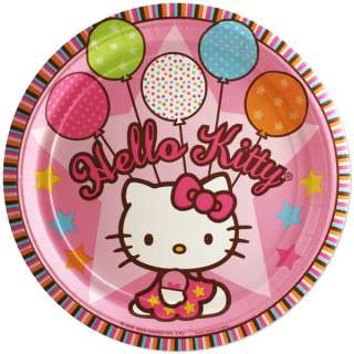 Hello Kitty 7 Cake Plates Party Favor Birthday Dessert