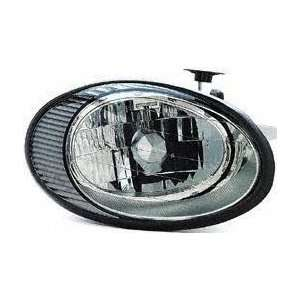 98 99 FORD TAURUS HEADLIGHT RH (PASSENGER SIDE), From 6/10/98 (1998 98