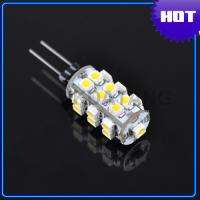 G4 1.2W 110 Lumen 3200K 25 SMD LED Car Warm White Light Bulb DC 12V