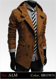 THELEES Mens Slim Fitted Style Jacket Blazer Coat BEST Collection