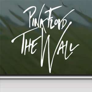 Pink Floyd The Wall White Sticker Car Vinyl Window Laptop