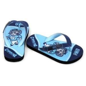 North Carolina Tar Heels Youth Zori Flip Flops Sports