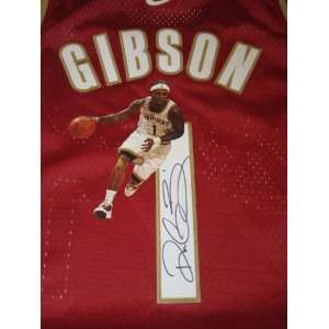 Daniel Gibson Signed Autographed Jersey Cleveland Cavaliers Authentic