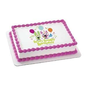 Happy Birthday Personalized Edible Cake Image Topper