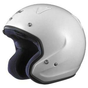 Classic M Motorcycle Helmet, Glacier White, Medium Sports