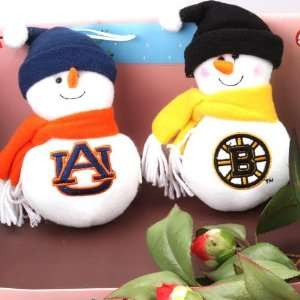 christmas present ~ lovable snowman plush baby toy scarf