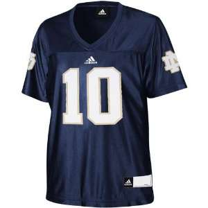 NCAA adidas Notre Dame Fighting Irish #10 Womens Replica Football