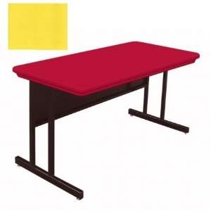 Blow Molded Plastic Top Computer and Training Tables