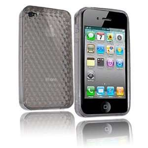 Modern Tech Black Diamond Etched Design Gel Case/ Skin for