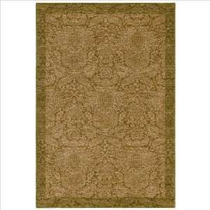 com Tommy Bahama Seaspray Damask Area Rug, 2.6 Feet by 7.9 Feet, Gold